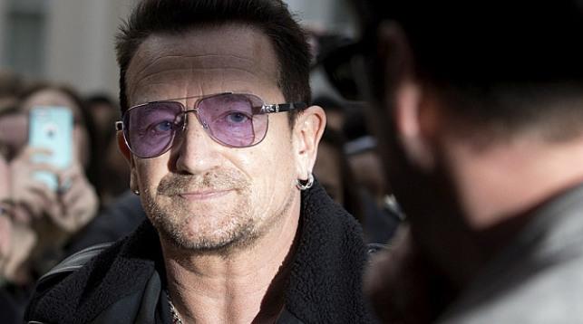 Солист U2 Боно возглавил список Женщин года