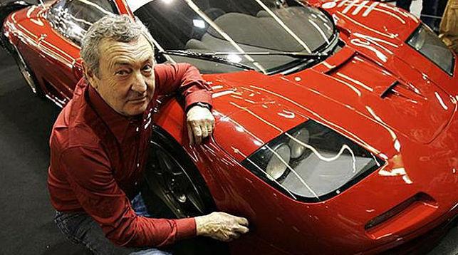 Ник Мейсон разбил коллекционный автомобиль
