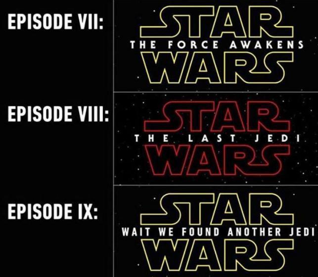Всети интернет объявили название 8-ой части «Звездных войн»