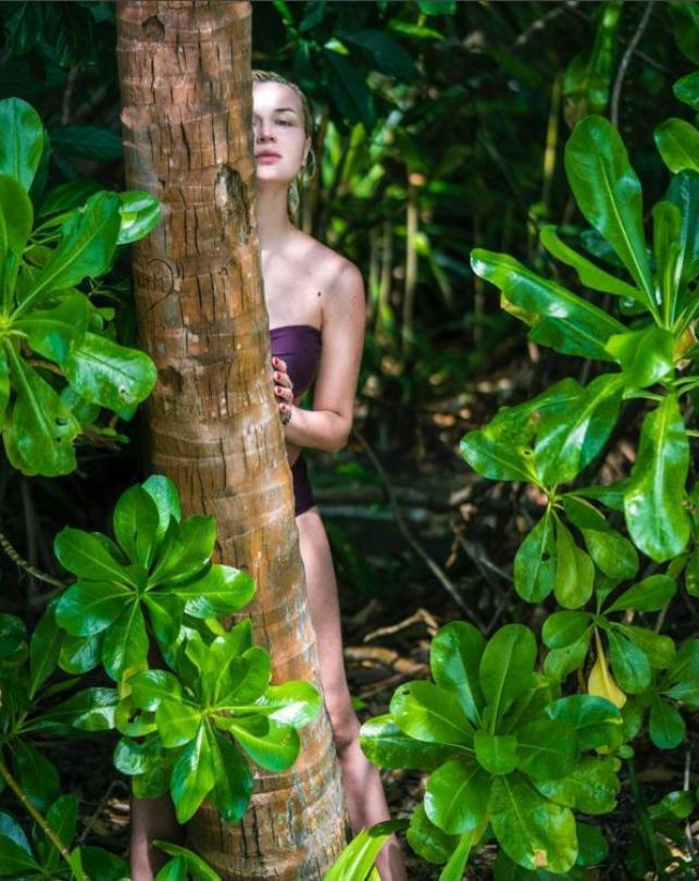 Полина Гагарина наМальдивах— Солнечное настроение