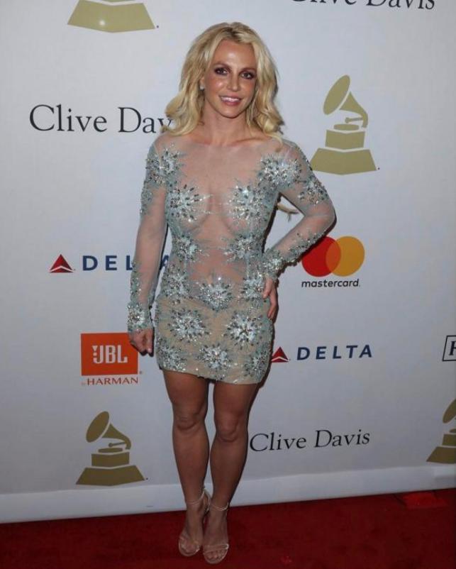 Поклонникам Бритни Спирс непонравился еенаряд навечеринке вчесть «Грэмми»