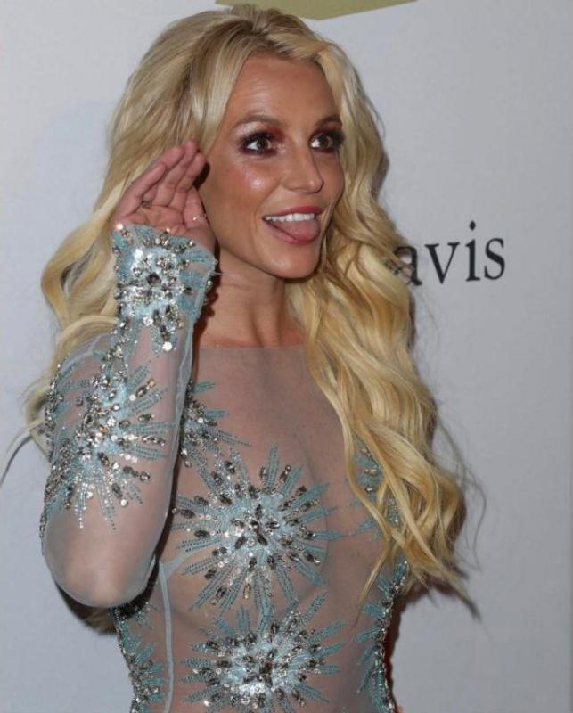 Бритни Спирс воткровенном наряде сравнили сВолочковой