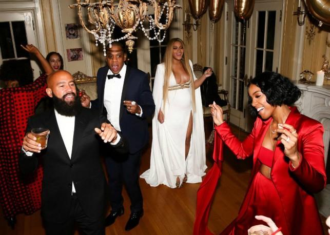 Беременная Бейонсе показала свою вечеринку после «Грэмми»